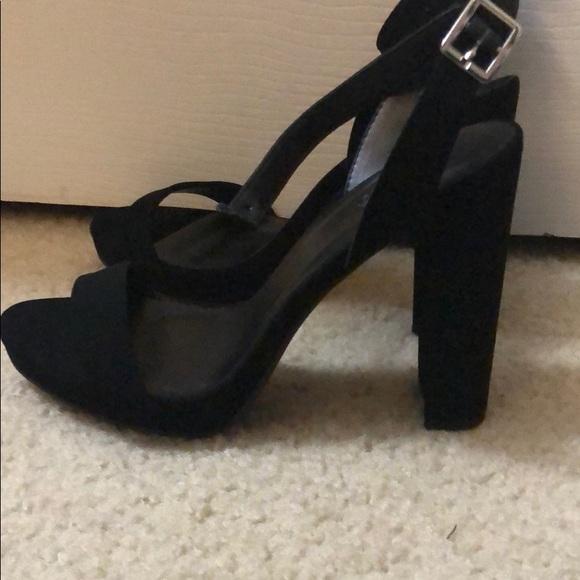 Charlotte Russe Shoes | Black Heels